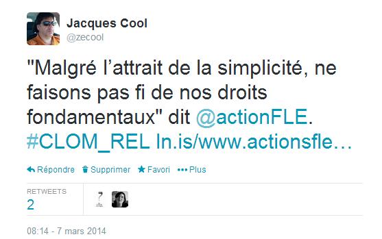 tweet Action FLE